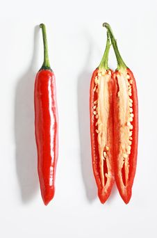Free Chillies Royalty Free Stock Photography - 16900987