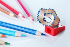 Free Color Pencils Royalty Free Stock Image - 16901096