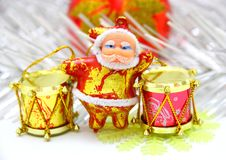 Santa Claus Doll Royalty Free Stock Images
