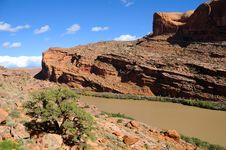 Free View Of Moab Rim Stock Photos - 16901443