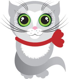 Free Cat With Green Eyes Stock Image - 16901471