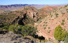 Free Moab Valley From La Sal Mountain Overlook Stock Photography - 16901692