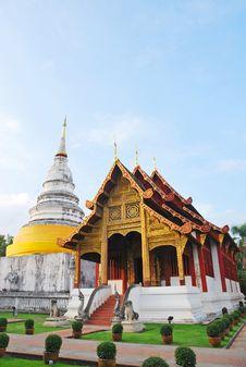 Free Temple In Chiangmai Thailand Stock Photos - 16902083