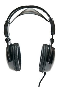 Free Black Headphones Royalty Free Stock Images - 16902959
