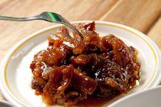 Roast Pork . Stock Photo