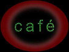 Free Neon Cafe Night Stock Photos - 16903793
