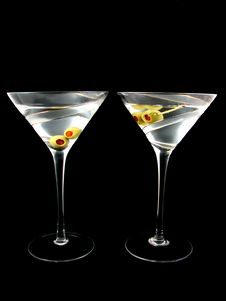 Free Two Martini S Royalty Free Stock Photography - 16903967