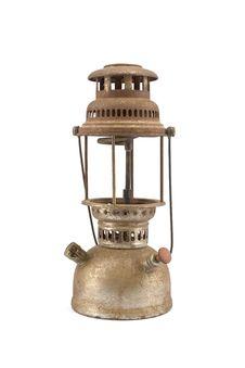 Free Vintage Kerosene Lamp Royalty Free Stock Image - 16904496