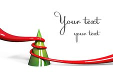 Free Stylized Christmas Tree Royalty Free Stock Photo - 16904545