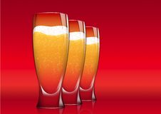 Free Three Glasses Of Beer Stock Images - 16904794