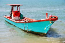 Free Fishery Boat In Thailand. Royalty Free Stock Image - 16905086