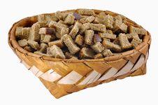 Free Rusks In Big Birch-bark Box Royalty Free Stock Photo - 16905175