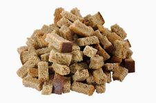 Pile Of Rusks Stock Images