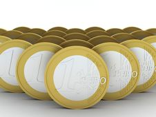 Free Euro Coins Stock Photography - 16906112