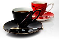 Free Black And Red Cup Stock Photography - 16906412