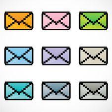 Free Message Icon Stock Photo - 16906840