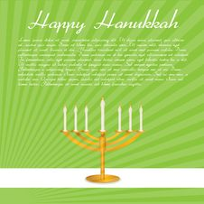 Free Happy Hanukkah Card Stock Images - 16906864