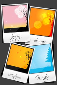 Free Types Of Season Royalty Free Stock Photos - 16906898