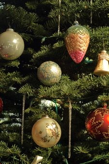Free Christmas Decorations Royalty Free Stock Photography - 16907267