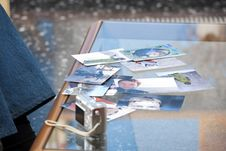 Free Photographs On The Table Stock Photography - 16907702