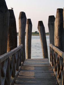 Free Pier At Seaside Royalty Free Stock Image - 16908096