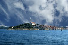 Free View Of The Old City Rovinj In Croatia Stock Photo - 16908500