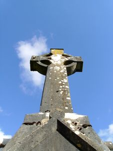 Free Celtic High Cross Royalty Free Stock Photography - 16909157