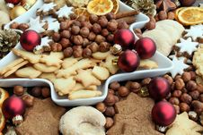 Free Christmas Cookies Stock Photo - 16909390