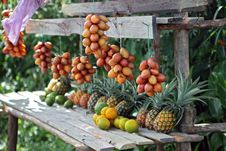 Free Exotic Fruit Stand Stock Photos - 16909583
