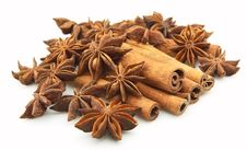Free Anise And Cinnamon Stock Image - 16909721