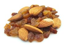 Free Raisin And Almonds Stock Images - 16909734