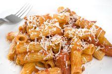 Free Tortiglioni Alla Norma Stock Images - 16909984