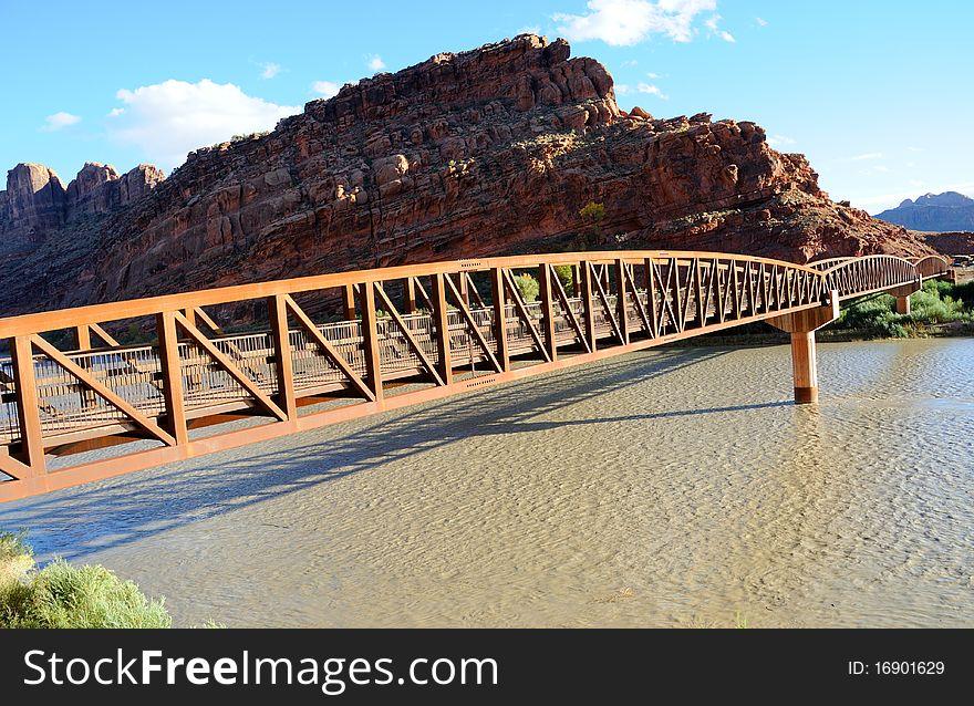 Moab Mountain Bike Bridge