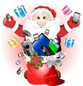 Free Technological Santa Claus Royalty Free Stock Images - 16912479