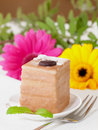 Free Petit Four With Coffee Cream Royalty Free Stock Photos - 16914048