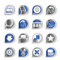 Free Internet And Website Icons Stock Photo - 16916030