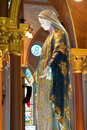 Free Virgin Mary Statue In  The Church Royalty Free Stock Photo - 16917405