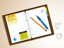 Free Notepad Royalty Free Stock Images - 16910159