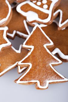 Free Gingerbread Cookies Stock Images - 16910484