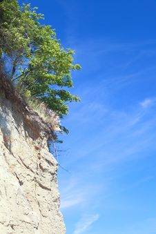Free Cliff In Gdynia  POLAND Stock Image - 16910531