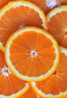 Free Orane Slices Royalty Free Stock Photo - 16910545