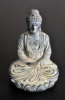 Free Isolated Buddha Statue Stock Photography - 16912212