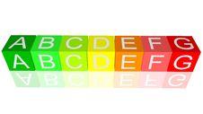 Free Energy Efficiency Blocks Stock Photos - 16912393