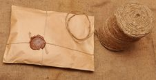 String Hank And Parcel Stock Photography