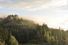 Free Misty Landscape Sösestausee Stock Images - 16915284
