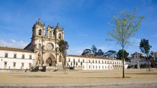Free Abbey Of Alcobaca XII Century Silvercoast Portugal Royalty Free Stock Photo - 16915395