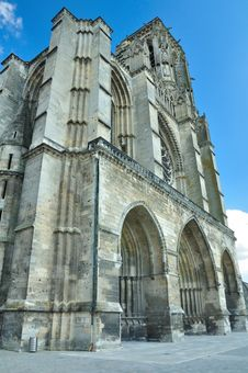 Free Frontal View Of Soissons Cathedral Royalty Free Stock Photo - 16915415