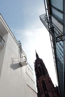 Free Frankfurt Dom Perspective Royalty Free Stock Image - 16915526