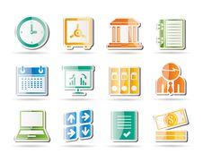 Free Business, Finance And Office Icons Stock Photos - 16915993
