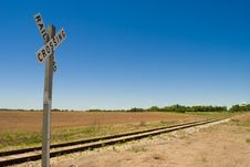 Free Country Railroad Royalty Free Stock Photos - 16916258